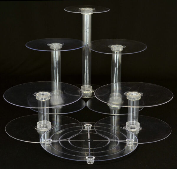 8 tier cascade wedding cake stand 6 tier cascade wedding cake stand ebay 10516
