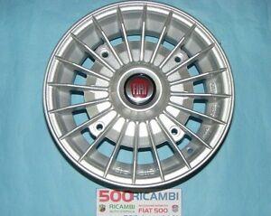 FIAT-500-F-L-R-126-4-CERCHI-IN-LEGA-RUOTE-DA-4-5-X-12-SILVER-A-RAGGI-EPOCA-4X19