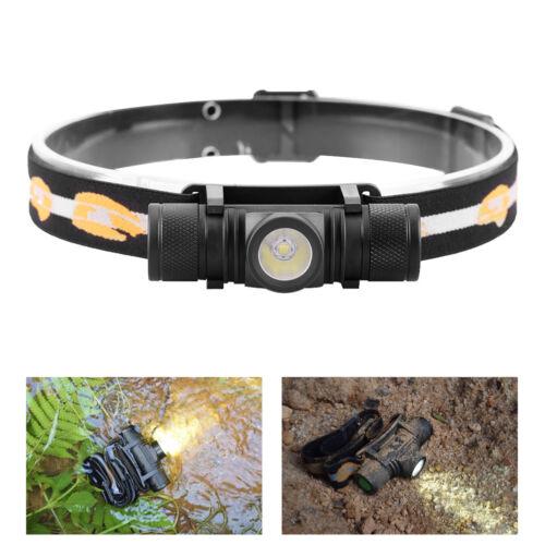 Lampe-torche étanche USB XM L2 T6 Lampe frontale BikeLight 18650 Rechargeab ST
