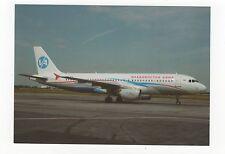 Vladivostok Avia A320-214 at Novosibirsk Aviation Postcard, A644