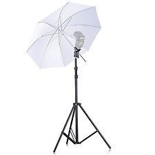 Neewer Single Speedlight Flash ShoeMount Swivel Translucent Soft Umbrella Kit