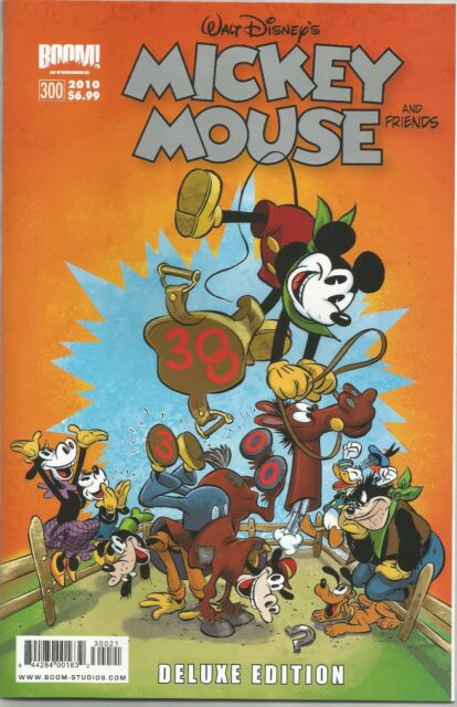 MICKEY MOUSE AND FRIENDS (2009) #300 DELUXE Back Issue (S)