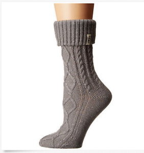 207396cfd28 Details about UGG Women's Sienna Short Rain Boot Sock Seal Gray Style  1016229S New With Tags