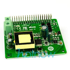 5V-3A-4A-PoE-HAT-Raspberry-Pi-4-4B-3B-3B-Plus-802-3at-PoE-Power-Over-Ethernet
