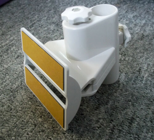 Vision Plus Uni-bracket and plate attach aerial pole to caravan motorhome