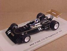 Spark 1/43 Resin BRM P160E, 5th 1974 Argentina GP, #14, J.-P. Beltoise  #S1149
