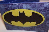 Batman Logo Bi Fold Wallet Justice League Comics Us Seller Dark Knight Movie