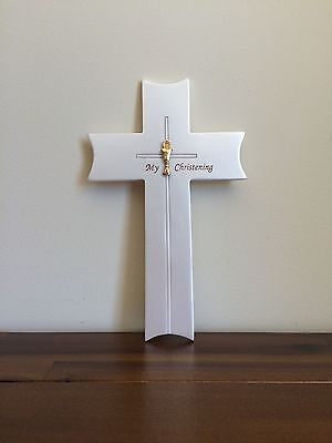 My Christening Day Wall Cross Good Baptism Gift