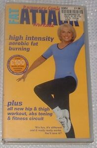 Rosemary Conley Fat Attack Workout VHS - Stourbridge, United Kingdom - Rosemary Conley Fat Attack Workout VHS - Stourbridge, United Kingdom