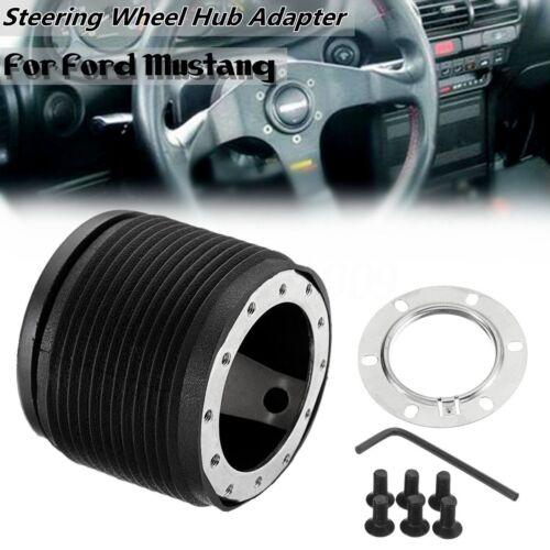 6 Bolt Hole Racing Steering Wheel Hub Adapter Boss Kit For Ford Mustang 89-95  !