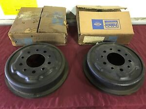 details about nos 1960 ford truck front brake drums c0tz 1125 a f 100 Ford Truck Trailer Lights