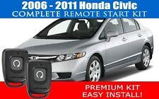 Honda Civic REMOTE START CAR STARTER 2006 - 2011 - COMPLETE - EASIEST INSTALL!