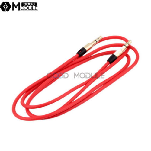 3.5mm Male to Male Stereo Audio Cable AUX Auxiliary CORD 94cm for PC iPod MP3