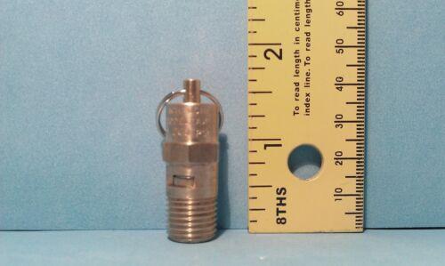 Compresor de aire de presión Válvula de alivio de 200 Psi De 1//4 De Pulgada Macho Npt ASME Certificada