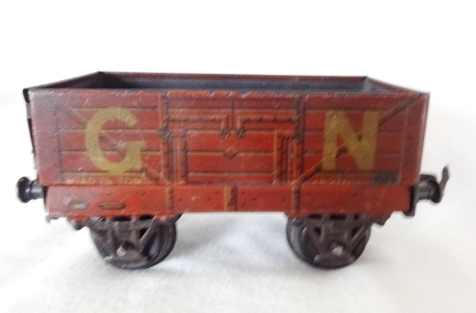 001T Vintage Bing O Gauge GN Open Wagon