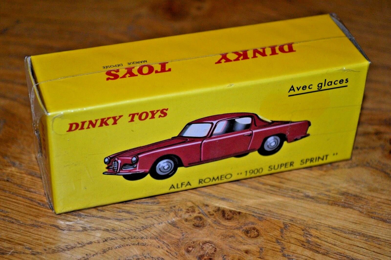 French Dinky Toys Atlas Edition Diecast Alfa Romeo 1900 Super Sprint Unopened