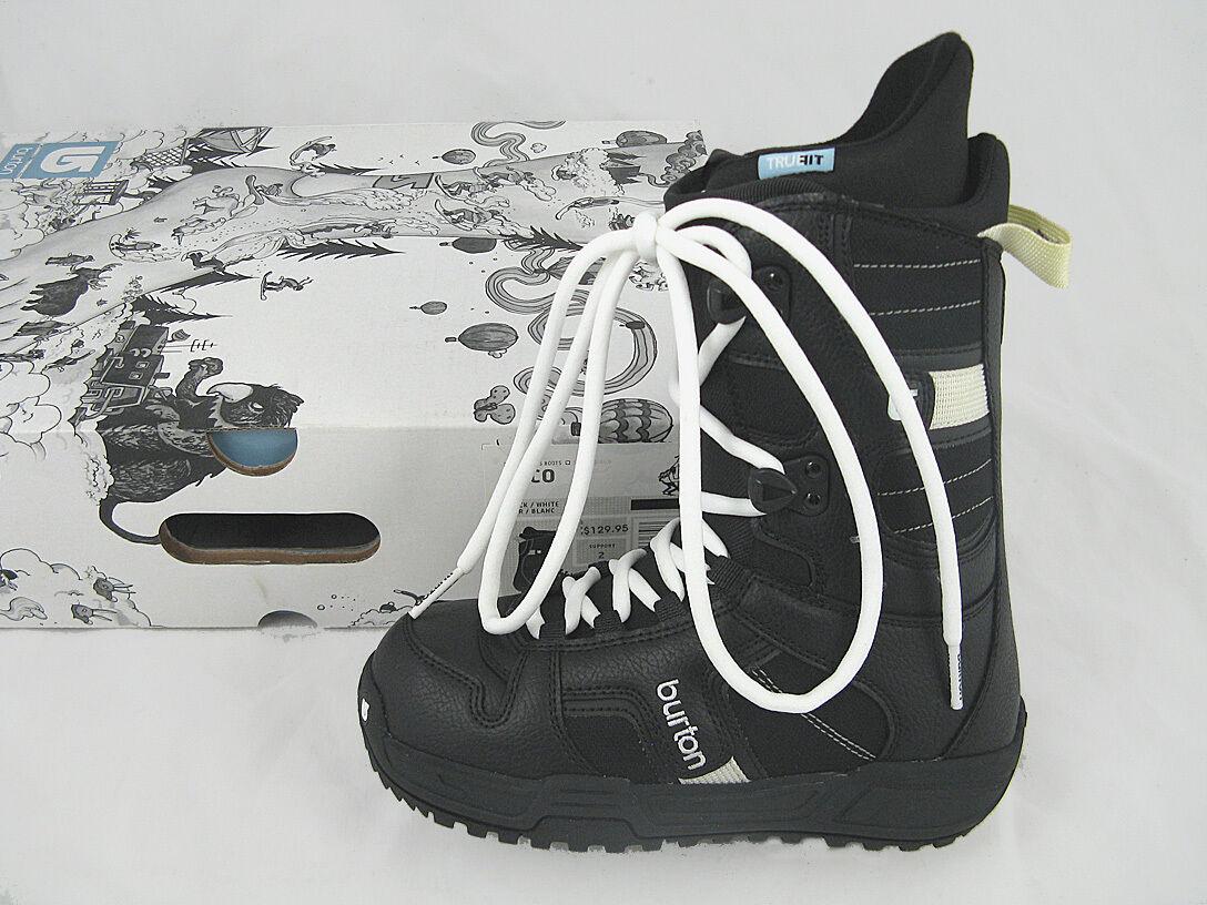 NEW Burton Coco Snowboard Boots  US 4 Mondo 21 Euro 34  Traditional Lace