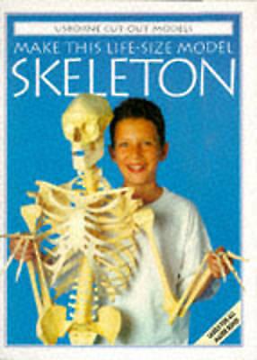 Make This Model Skeleton (Usborne Cut-out Models), Iain Ashman | Paperback Book