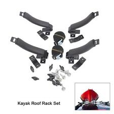 Universal Kayak Roof Rack SUV Cradle Canoe Boat Sail Board 4 Saddles Strong U0P7