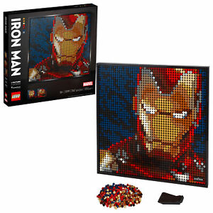 BRAND NEW LEGO Marvel Studios Iron Man ART Item 6294859 Free shipping  on eBay thumbnail