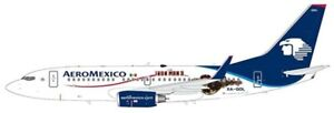 Jc Wings Jclh2182 - 1/200 Aeromexico Boeing 737-700 Iron Man 3 Xa-gol avec support