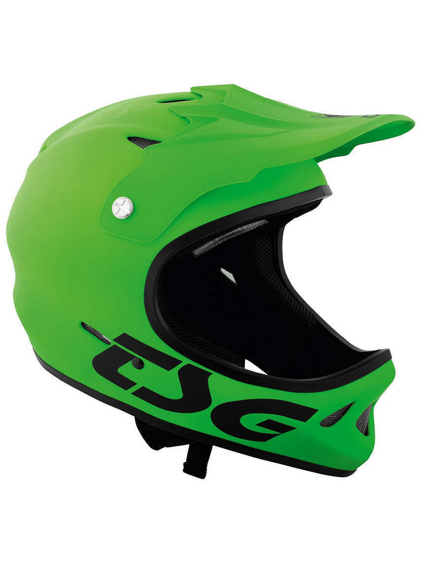 Casque BMX VTT TSG STATEN SOLID COLOR lime green  NEUF