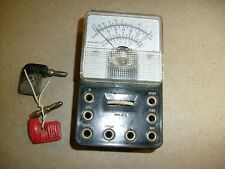 Vintage Monarch Mini Meter Model Mt 5 Acampdc From Radio Estate