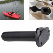 3x Heavy Duty Stainless Steel Yacht Kayak Fishing Rod Holder Cap Flush Mount