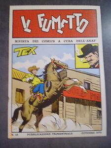 IL FUMETTO I° SERIE n° 19/1975 - COVER TEX GALEP