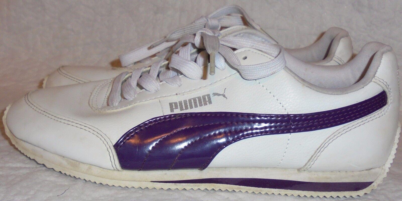 PUMA LADIES BlancoMorado ATHLETIC talla ATHLETIC BlancoMorado SHOE talla BlancoMorado 11 M 3e19cd