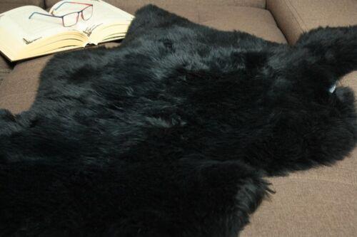 Genuine Natural Rug DYED LUXURY sheepskin Real fur Postage FREE