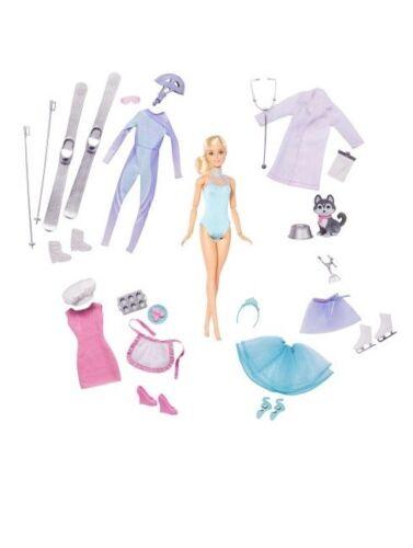 Barbie 5 Careers gift set Valentines day