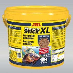Jbl Novostick Xl 5,5l L, aliment de base pour les grands cichlidés carnivores