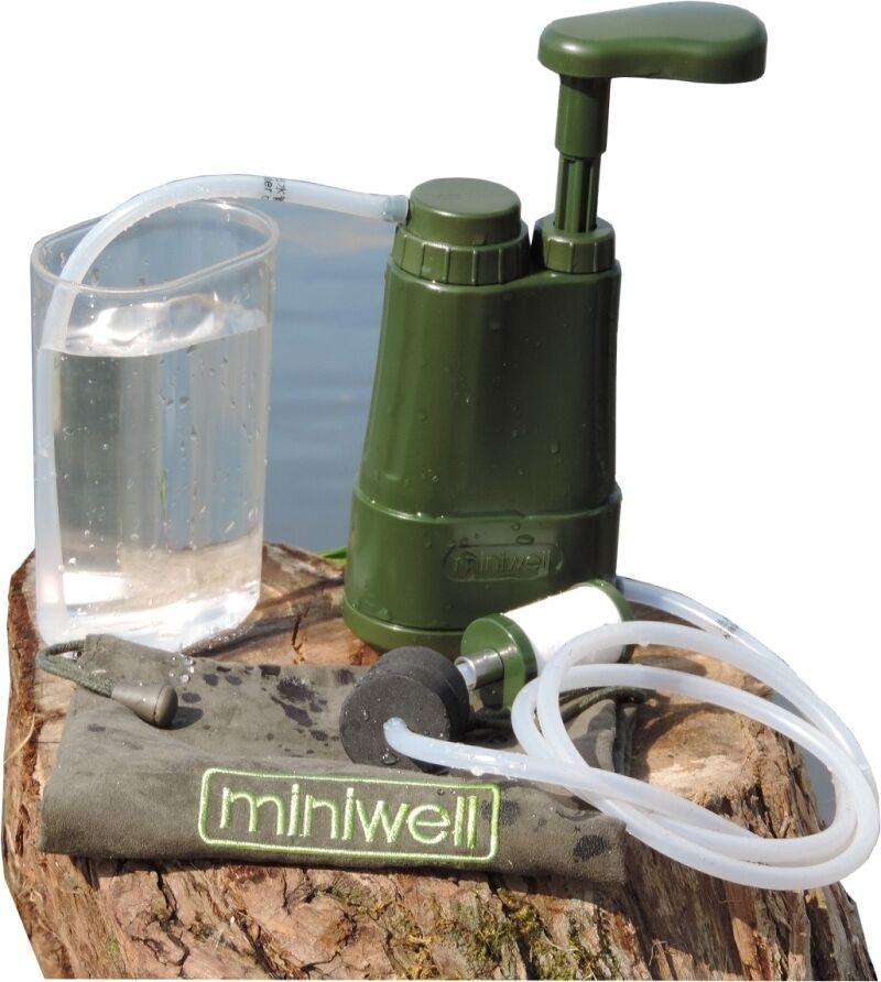Miniwell L610: Camping Wasserfilter  - entfernt Viren und Bakterien