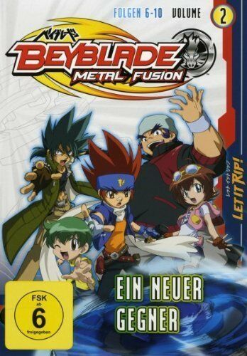 1 von 1 - DVD/ Beyblade Metal Fusion - Volume 2 - Ein neuer Gegner !! NEU&OVP !!