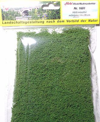 (223,21 €/m²) Heki 1601 Heki Micro Flor Fogliazione Tessuto Non Tessuto Verde Medio 28 X 14 Cm, Nuovo-s Mittelgrün 28 X 14 Cm, Neu It-it Mostra Il Titolo Originale