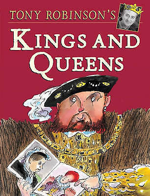 """""""AS NEW"""" Robinson, Tony, The Hutchinson Book Of Kings & Queens, Paperback Book"""