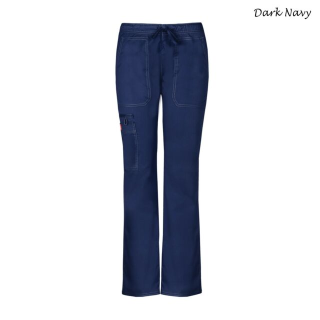 72a88c9a4ee21 Dickies Blue Womens USA Size XS Gen-flex Stretch Work Scrub Pants 734