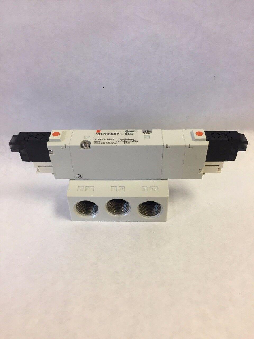 SOL 4//5-PORT*** VQZ2000 VALVE SMC VQZ2151-5LJ1 valve base mount dc