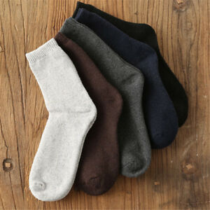 Super-Thermal-Warm-Sport-Socks-Heavy-Wool-Merino-Knitting-Men-Women-Thicken-Sock