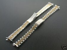 JUBILEE WATCH BAND BRACELET FOR LADY 26MM ROLEX DATEJUST TWO TONE GOLD/STEEL13MM