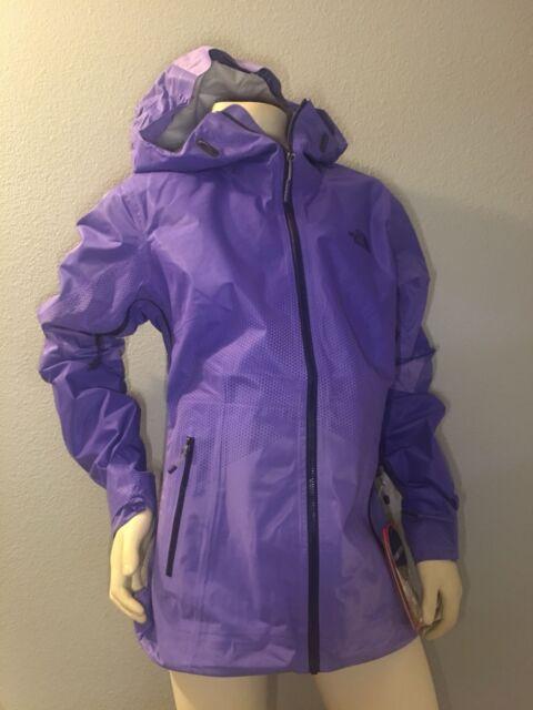 388ca282d The North Face Women Fuseform Dot Matrix Rain Jacket Starry Purple X-large