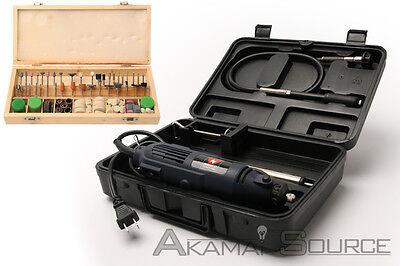 COMBO 268 pc UL/CUL Rotary Tool Kit Grinding Sanding Polishing Hobby Power Tools