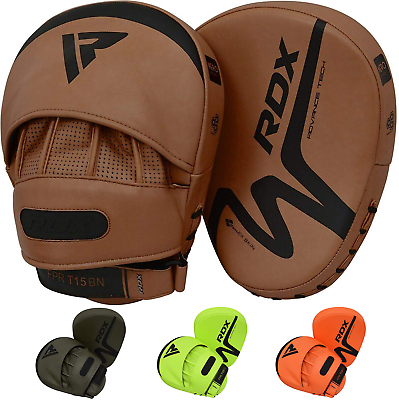 RDX Boxing Pads Focus Mitts Training Muay Thai MMA Kickboxing Hook /& Jab Target