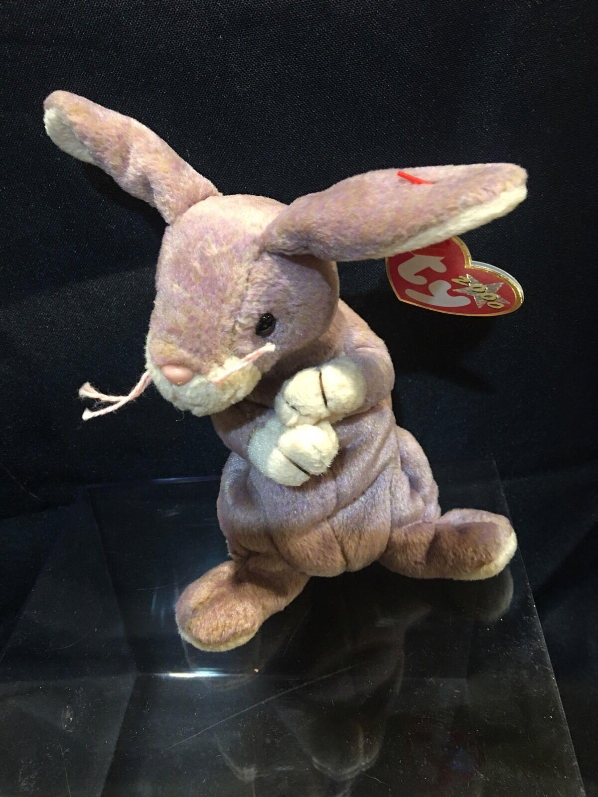 Ty Beanie Babies  SPRINGY  The Rabbit Rabbit Rabbit     2000'  NEW w Tags 5e15c6