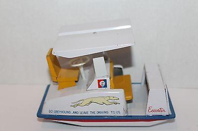 Blechspielzeug Selten 1964 New York Weltweit Fee Blech Reibung Greyhound Escorter W/original