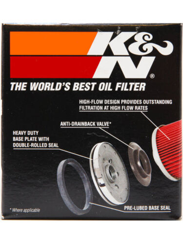 KN-138 K/&N Oil Filter FOR SUZUKI GSXR600 30 YEARS