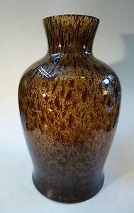 glas vase bodenvase berfangglas murano venedig um 1935 gro 39cm ebay. Black Bedroom Furniture Sets. Home Design Ideas