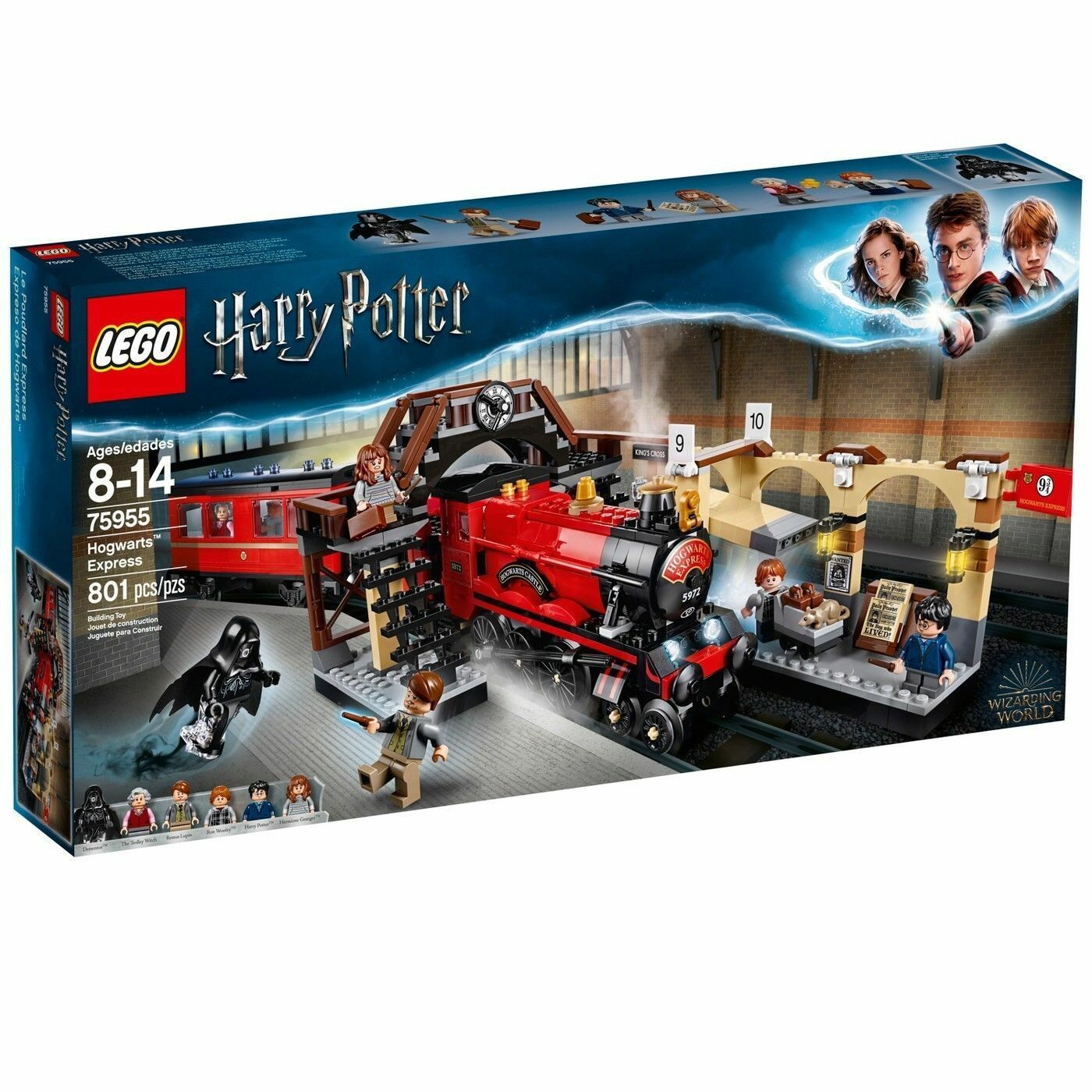 New Lego Harry Potter Hogwarts Express 75955 FACTORY SEALED