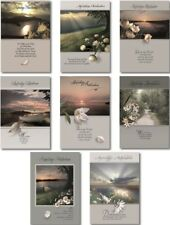 100 Trauerkarten Trauerkarte Trauer Beileidskarten Kondolenzkarten 811840 TA